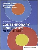 Contemporary Linguistics : An Introduction (Paperback, 2 ed)