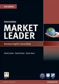 Market Leader 3rd Edition Intermediate Coursebook & DVD-Rom Pack (Package, 3 ed)