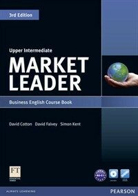 Market Leader Upper Intermediate Course Book with DVD-ROM (Package, 3rd Edition)