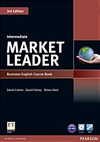 Market Leader 3rd Edition Intermediate Coursebook & DVD-Rom Pack (Package, 3 ed)