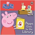Peppa Pig: Peppa Goes to the Library: My First Storybook (Board Book)