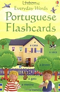 Everyday Words Flashcards: Portuguese (Cards)