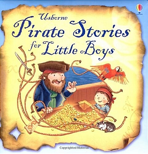 Pirate Stories for Little Boys (Hardcover)