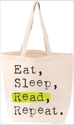 Eat, Sleep, Read, Repeat Tote (Other)