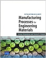 Manufacturing Processes for Engineering Materials SI (Paperback)