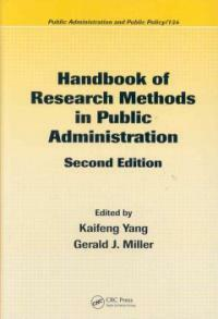 Handbook of research methods in public administration 2nd ed