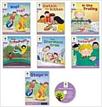 Oxford Reading Tree : Stage 1+ Decode and Develop (Storybooks 6권 + Audio CD 1장, 미국발음)