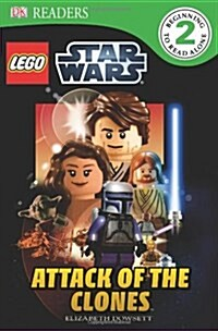 DK Readers L2: Lego Star Wars: Attack of the Clones (Paperback)