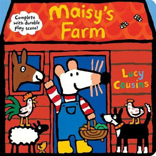 Maisys Farm: Complete with Durable Play Scene: A Fold-Out and Play Book (Board Books)