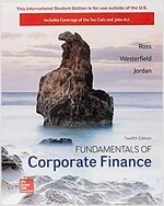 FUNDAMENTALS OF CORPORATE FINANCE (Paperback, 12th)