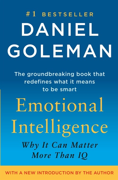 Emotional Intelligence: Why It Can Matter More Than IQ (Hardcover, 10, Anniversary)