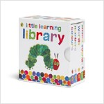 Very Hungry Caterpillar Little Learning Library (4 Hardcover, 영국판)