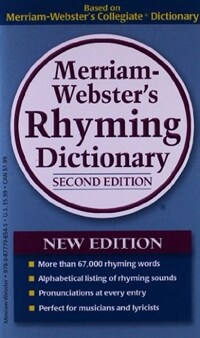 Merriam-Webster's Rhyming Dictionary (Mass Market Paperback, 2)