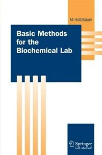 Basic methods for the biochemical lab 1st english ed