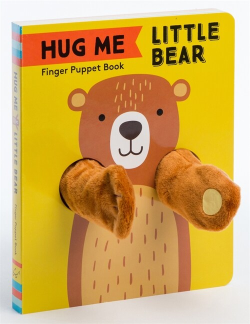 Hug Me Little Bear: Finger Puppet Book (Board Books)