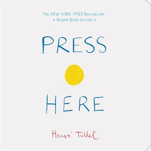 Press Here (Baby Board Book, Learning to Read Book, Toddler Board Book, Interactive Book for Kids) (Board Books)