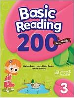 Basic Reading 200 Key Words : Book 3