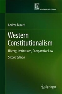 Western constitutionalism : history, institutions, comparative law / 2nd ed