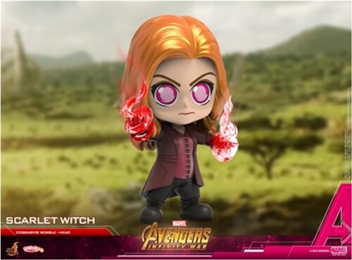 [Hot Toys] 코스베이비 스칼렛 위치 COSB496 - Scarlet Witch Cosbaby (S) Bobble-Head