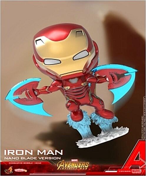 [Hot Toys] 코스베이비 아이언맨 마크L Nano Blade ver. COSB498 - Iron Man Mark L (Nano Blade Version) Cosbaby (S) Bobble-Head