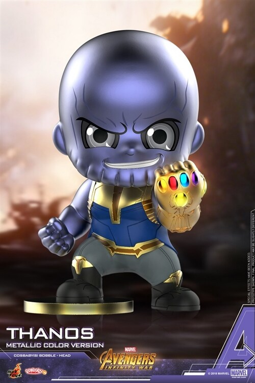 [Hot Toys] 코스베이비 타노스 Metallic Color Ver. COSB505 - Thanos (Metallic Color Version) Cosbaby (S) Bobble-Head