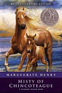 Misty of Chincoteague (Paperback, 60, Anniversary)