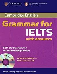 Cambridge Grammar for IELTS Student's Book with Answers and Audio CD (Package)