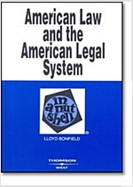 American Law And the American Legal System in a Nutshell (Paperback)
