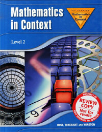 Holt Math in Context: Level 2 Student Edition Grade 7 2006 (Hardcover, Student)