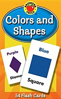 Colors and Shapes Flash Cards (Paperback)