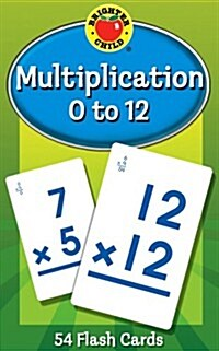 Multiplication 0 to 12 Flash Cards (Paperback)