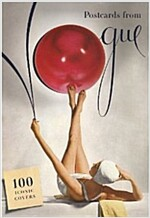 Postcards from Vogue : 100 Iconic Covers (Hardcover)