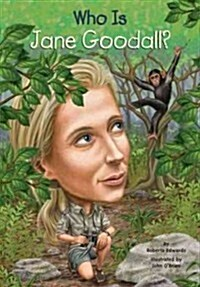 Who Is Jane Goodall? (Paperback)