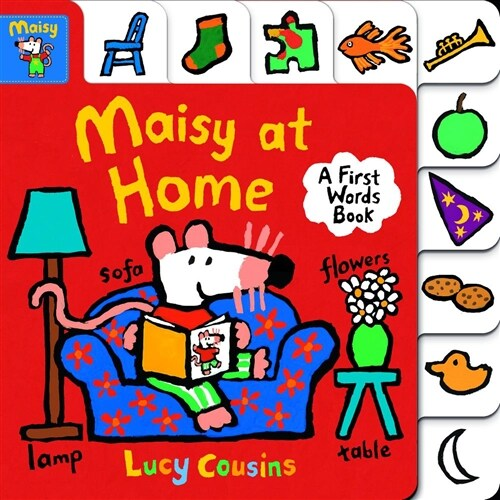 Maisy at Home: A First Words Book (Board Books)