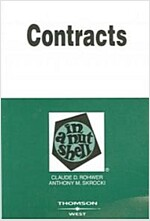Contracts in a Nutshell (Paperback)