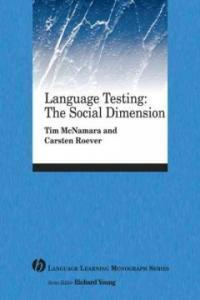 Language testing : the social dimension