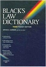 Black's Law Dictionary (Paperback, 3rd)