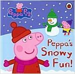 Peppa Pig: Peppa's Snowy Fun (Board Book)