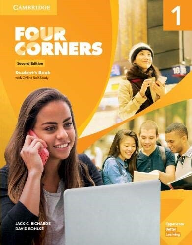 Four Corners Level 1 Students Book with Online Self-Study (Package, 2 Revised edition)
