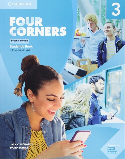 Four Corners Level 3 Students Book with Online Self-Study (Package, 2 Revised edition)