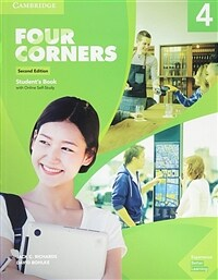 Four Corners Level 4 Student's Book with Online Self-Study (Package, 2 Revised edition)