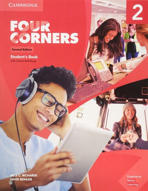 Four Corners Level 2 Students Book with Online Self-Study (Package, 2 Revised edition)