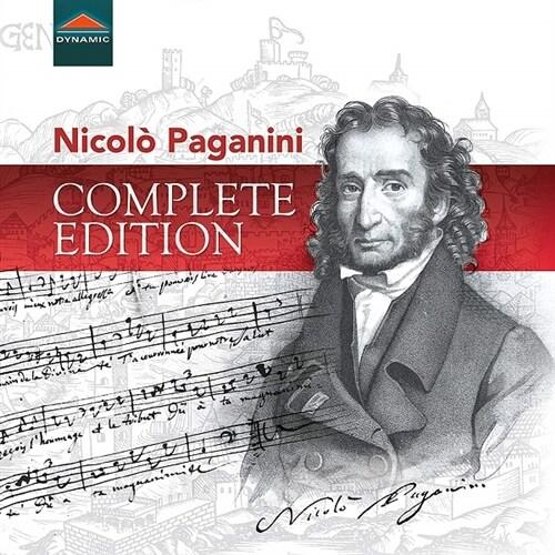 [수입] 파가니니 작품 전집 (한정반 40CD)