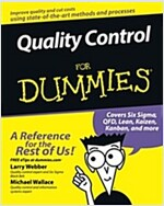 Quality Control for Dummies (Paperback)