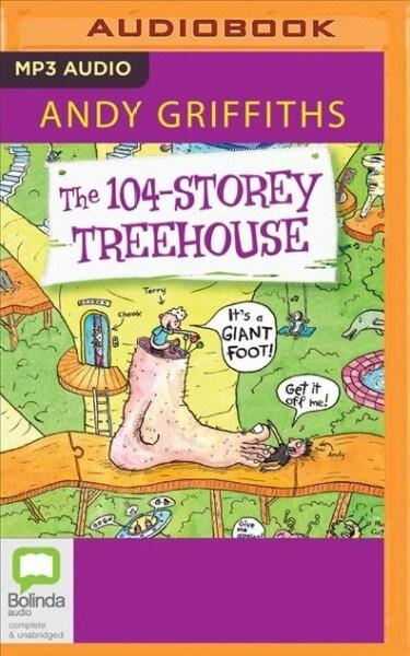 The 104-Storey Treehouse (MP3 CD)