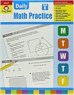 Daily Math Practice, Grade 6 (Paperback, Teacher)