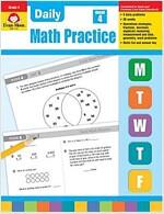 Daily Math Practice, Grade 4 (Paperback, Teacher)