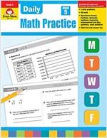 Daily Math Practice, Grade 5 (Paperback, Teacher)