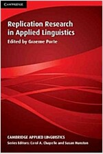 Replication Research in Applied Linguistics (Paperback)