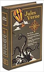 Jules Verne: Four Novels (Leather)